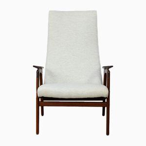 Vintage Ruster Armchair by Yngve Ekström for Pastoe