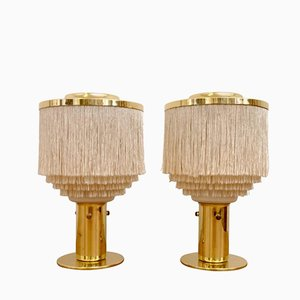 Mid-Century B-145 Table Lamps by Hans-Agne Jakobsson, Set of 2