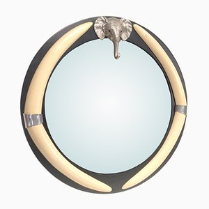Vintage Elephant Mirror by Chapman