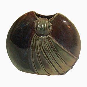 Vintage Ceramic Vase by Alexandre Kostanda