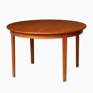 Runder Vintage Tisch von Henry Rosengren Hansen