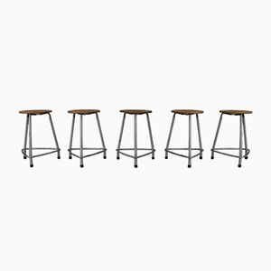 Stools by Friso Kramer for Ahrend de Cirkel, 1963, Set of 5