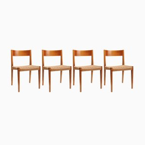 Dining Chairs from Girsberger, 1960s, Set of 4