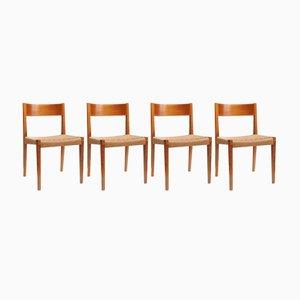 Esszimmerstühle von Girsberger, 1960er, 4er Set