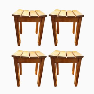 Vintage Stools, 1960s, Set of 4
