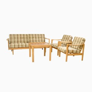 Scandinavian Living Room Set, 1960s