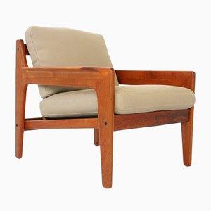 Teak Sessel von Arne Wahl Iversen für Komfort Denmark, 1960er