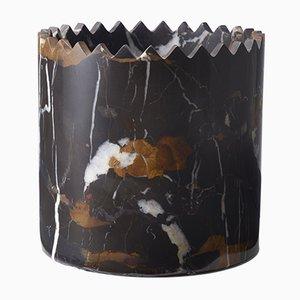 Triangoli Black & Gold Vase by David/Nicolas for Editions Milano, 2017