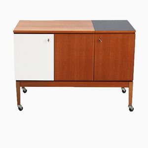 Small Walnut Extendable Sideboard, 1960s