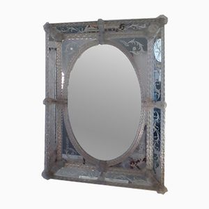 Venetian Murano Glass Wall Mirror
