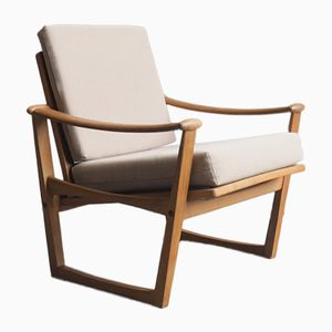Danish Model 65 Lounge Chair by Finn Juhl for M. Nissen Horsens
