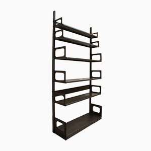 Vintage Metal Industrial Shelving Unit from Strafor