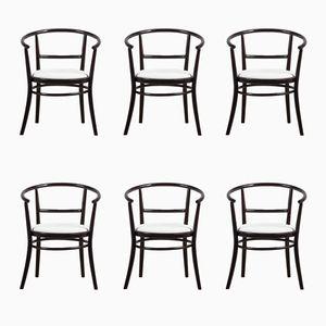 Bugholz Stühle von Ton, 1970er, 6er Set