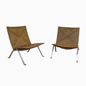 PK22 Sessel von Poul Kjaerholm für E. Kold Christensen, 1960er, 2er Set