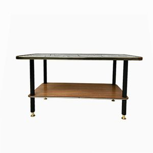 Mid-Century Coffee Table with Lower Shelf