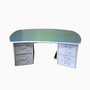 Mid-Century Schreibtisch aus Metall von Strong Steel