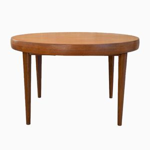 Mid-Century Round Table with Extension