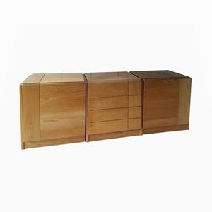 Modular 3-Piece Sideboard from Regain, 1980s