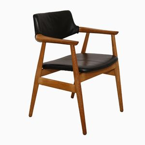 Vintage Danish Office Chair by Erik Kirkegaard for Glostrup