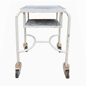 Vintage Metal Medical Trolley