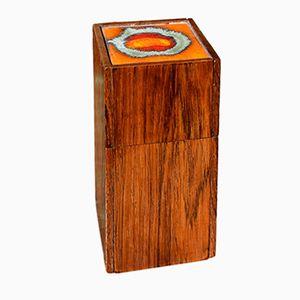 Mid-Century Rosewood Box by Alfred Klitgaard & Bodil Eje for Klitgaard