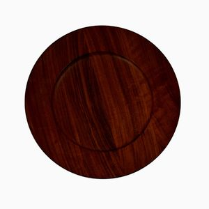 Mid-Century Teak Cover Plate by Jens H. Quistgaard for Kronjyden