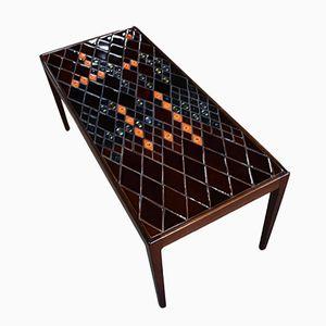 Vintage Rosewood Coffee Table by Bjørn Wiinblad