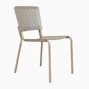 Vintage Züka Aluminum Chair from Embru