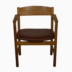 Mid-Century Modell 3235 Armlehnstuhl aus Eiche von Børge Mogensen für Fredericia