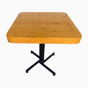 Quadratischer Vintage Tisch von Charlotte Periand