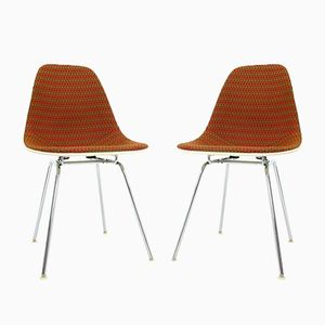 Mid-Century Chairs by Charles Eames for Herman Miller, Set of 2