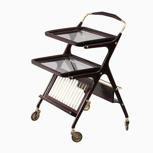 Italian Bar Trolley by Cesare Lacca, 1950s