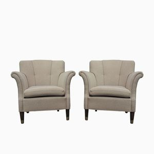 Danish Club Chairs, 1960s, Set of 2