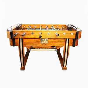 Mid-Century French Café Foosball Table, 1950s