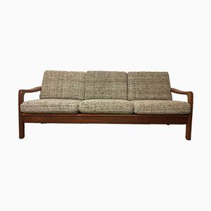 Teak 3-Sitzer Sofa/ Schlafcouch von Juul Kristensen, 1970er