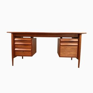 Mid-Century Teak Writing Desk, 1960s