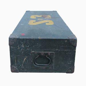 Holzbox mit Metallgriffen, 1930er
