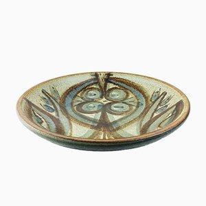 Vintage Danish Stoneware Dish by Noomi Backhausen for Soholm