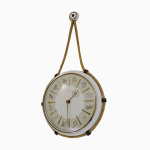 Tierkreis Uhr von Henry Johannes Möller für Kienzle International, 1950er