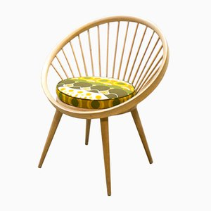 Vintage Circle Chair by Yngve Ekström for Swedese