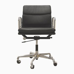 EA217 Aluminum Soft Pad Office Chair by Charles & Ray Eames for Vitra, 1980s