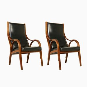 Cavour Armchairs by Stoppino, Meneghetti and Gregotti for Sim, 1960s, Set of 2