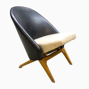 Chaise Congo Vintage par Theo Ruth pour Artifort
