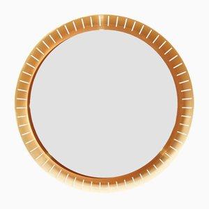 Großer Hinterleuchteter Vintage Spiegel von Stilnovo