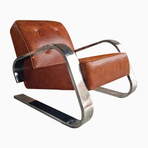 Vintage Model 400 Tank Armchair by Alvar Aalto