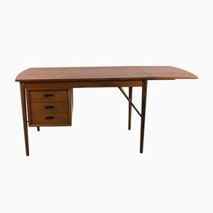 Mid-Century Danish Modern Teak Veneer Desk from Oddense Maskinsnedkeri/ O.D. Møbler
