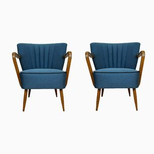 German Armchairs, 1950s, Set of 2