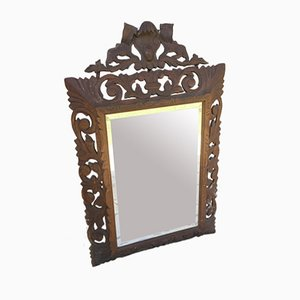 18th Century Carved Wooden Mirror