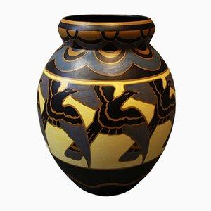 Keramik Vase von Charles Catteau, 1930er