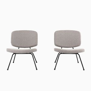 Mid-Century CM190 Law Chairs by Pierre Paulin for Thonet, Set of 2
